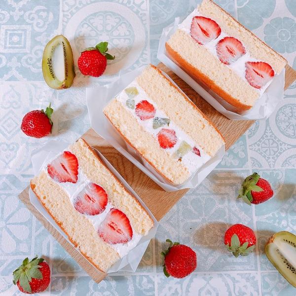 台北做蛋糕-魔法香味烘焙教室-草莓三明治