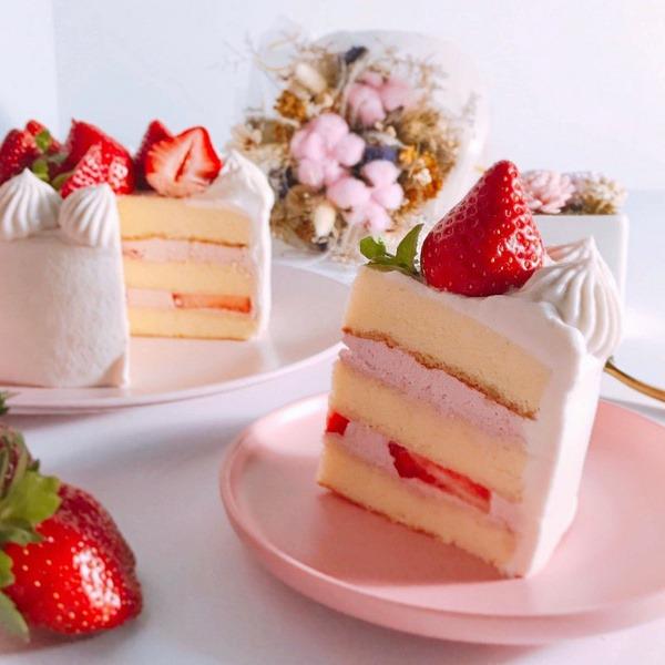 兩個鍋子翻糖&烘焙店-草莓蛋糕diy
