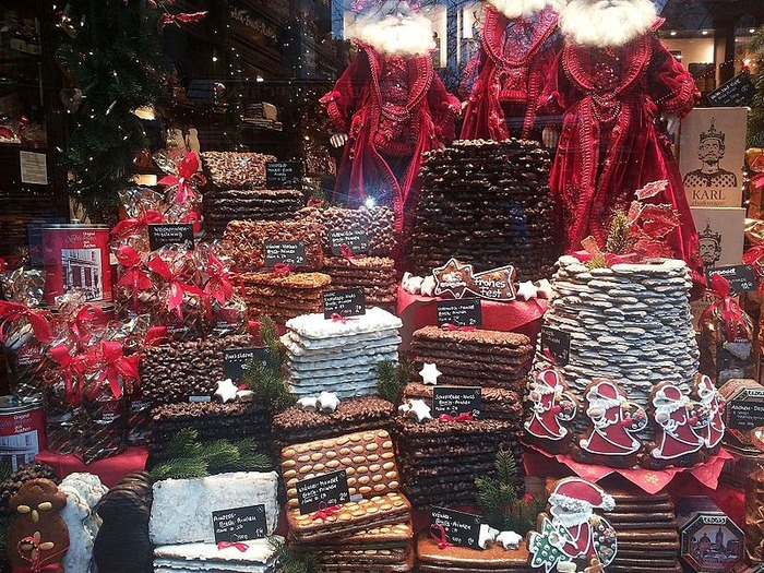 Christmas market in Aachen Germany Europe of Christmas dessert