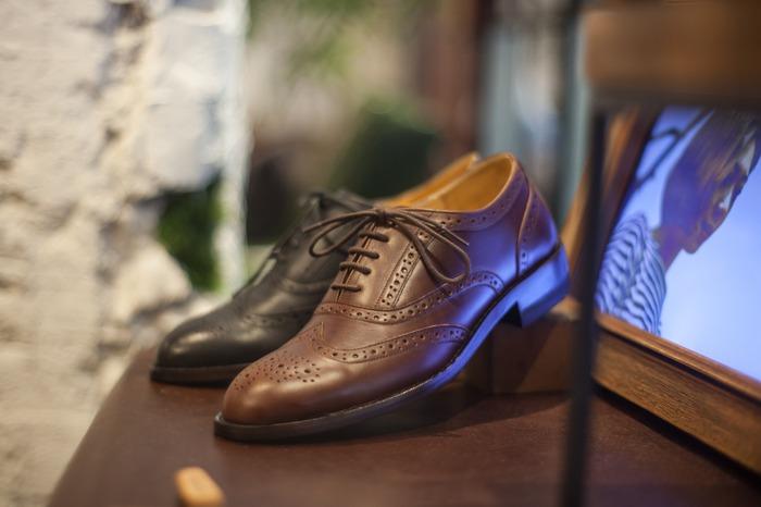 林果良品最自豪的雕花牛津鞋