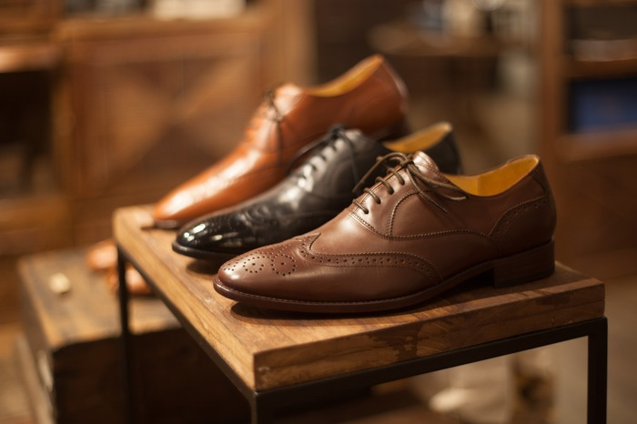林果良品最自豪的經典雕花牛津鞋