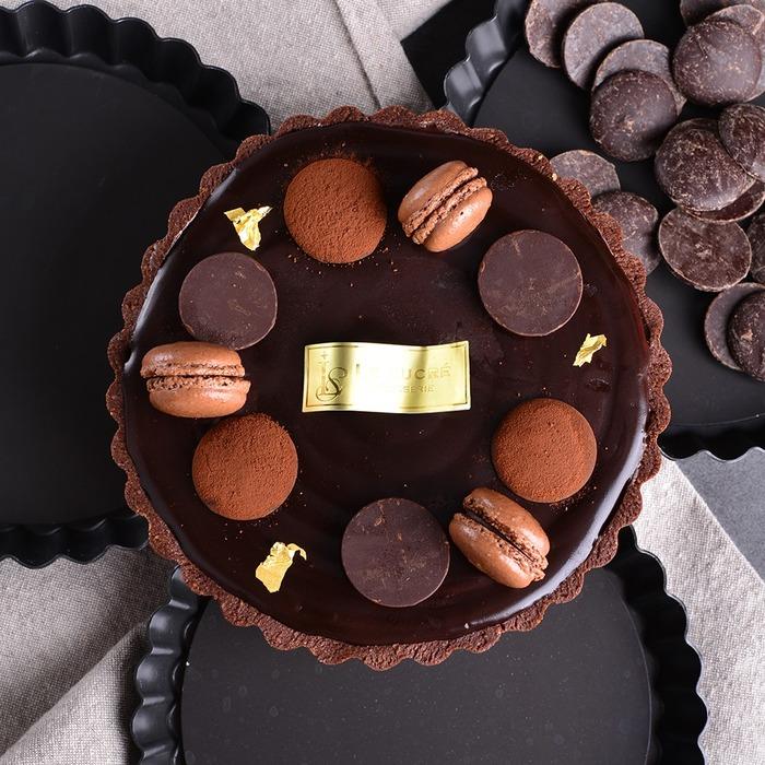 生巧克力塔 2021 情人節 巧克力蛋糕 甜點 宅配 送禮 不甜甜點
