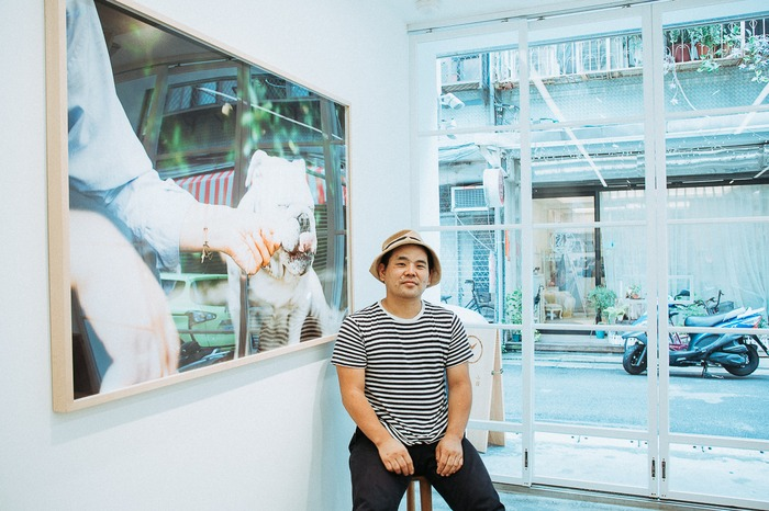 Hideaki Hamada at One Day—Life With A Dog Exhibition at Xiaoqi +g gallery in Taipei