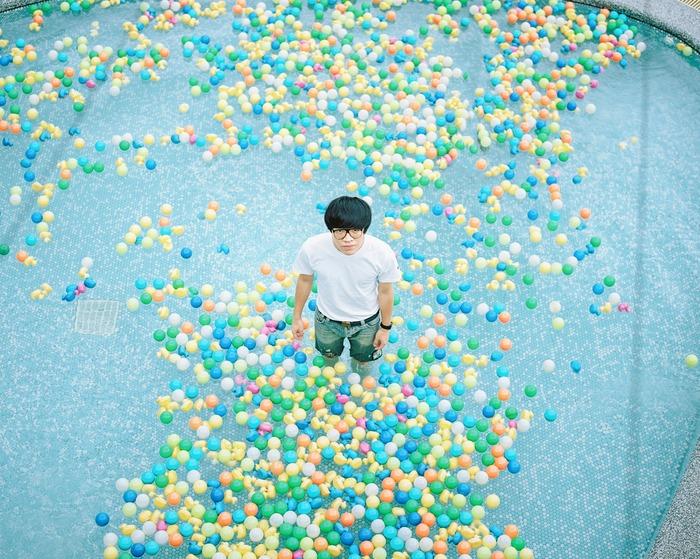 Hideaki Hamada's photography work of Taiwanese singer Crowd Lu