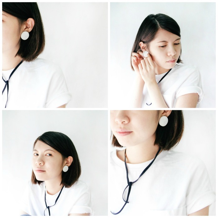 Curled Ends Earrings