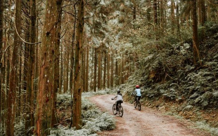 秋冬硬派野營-越野單車體驗