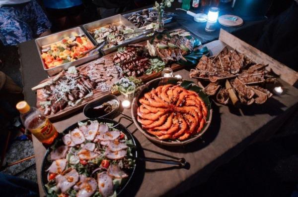 秋冬硬派野營-烤肉