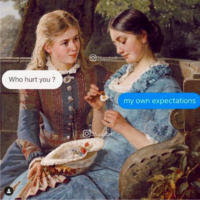 stupidart1 幽默 古典畫 惡搞古典畫 迷因 梗圖
