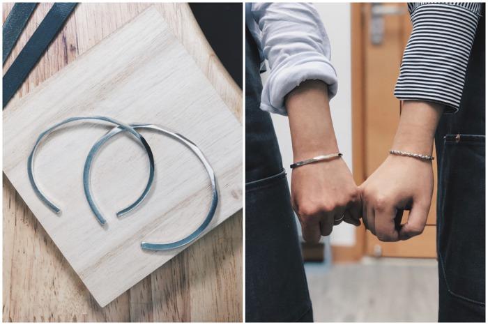 2021情人節 情人節工作坊 workshop 體驗活動 情侶活動 手工 金工 情侶手環 情侶戒指
