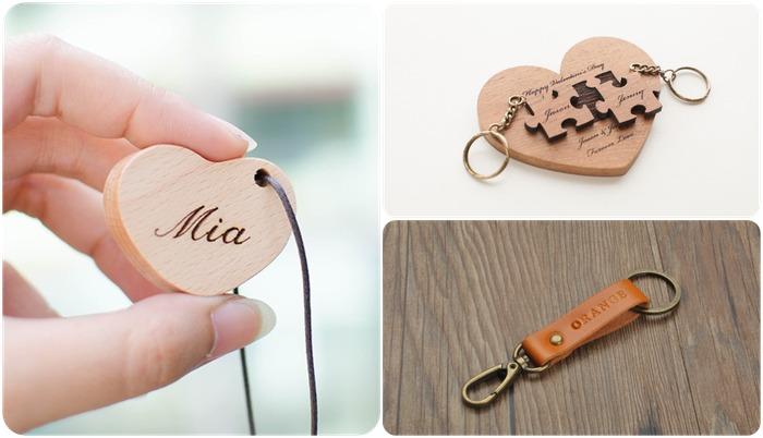 2021 情人節禮物:客製化鑰匙圈