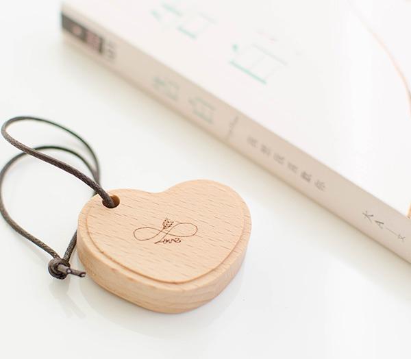 情人節禮物 客製化鑰匙圈 愛心 刻字