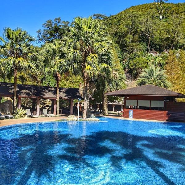 新竹免裝備露營-野漾莊園-游泳池