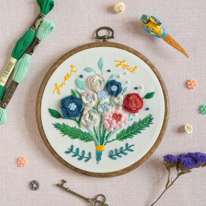 Sweet soul embroidery
