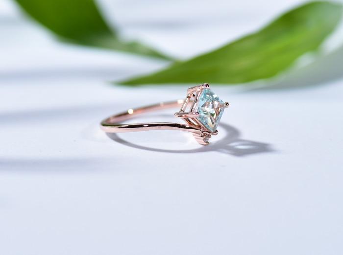 海藍寶 三月誕生石 生日石 水晶 天然石