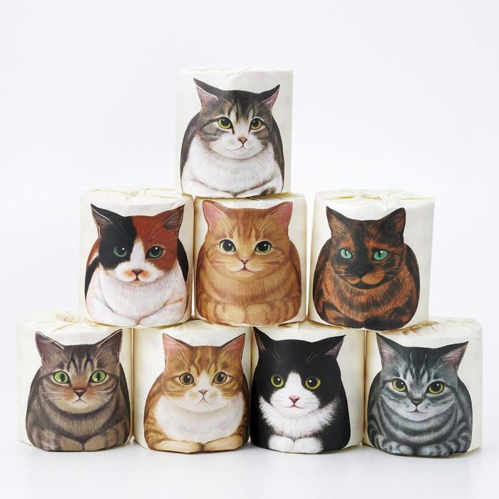 FELISSIMO貓咪捲筒廁紙