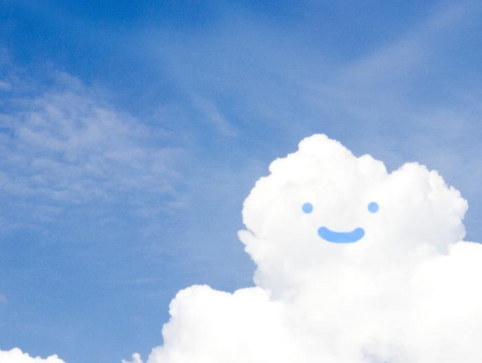 夏、雲、青空