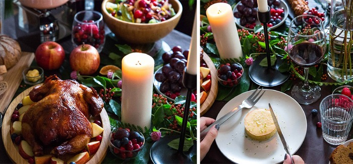 小草作的聖誕節大餐