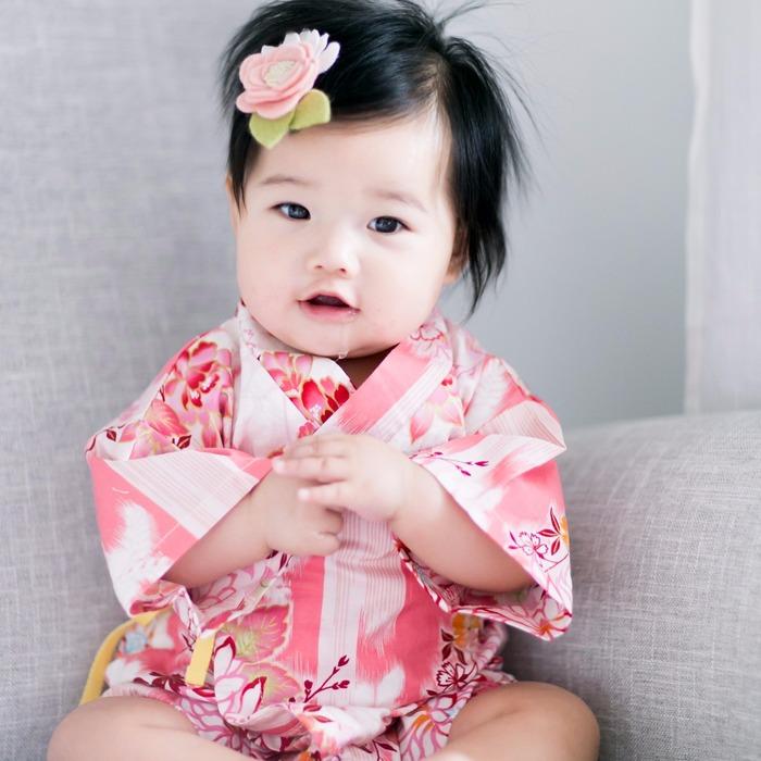 2018 過年 日式和服 童裝