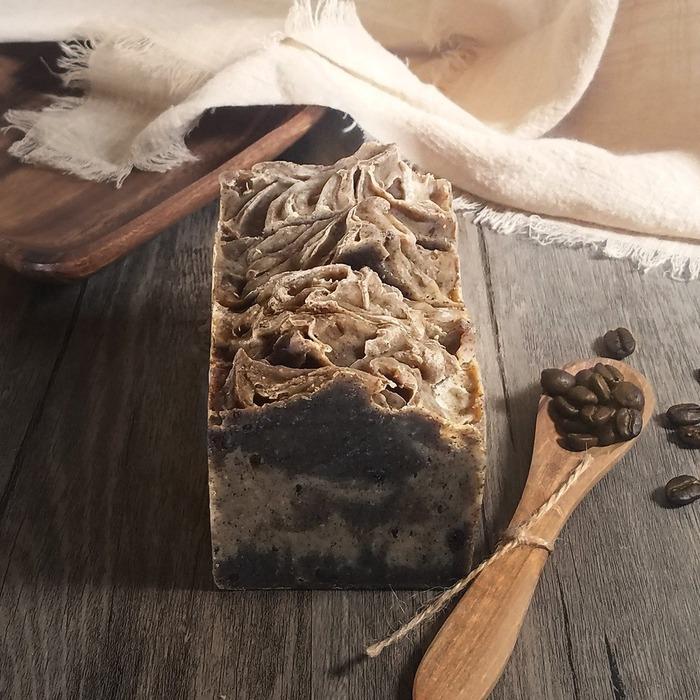 香港手工皂 soapwhat 的咖啡手工皂
