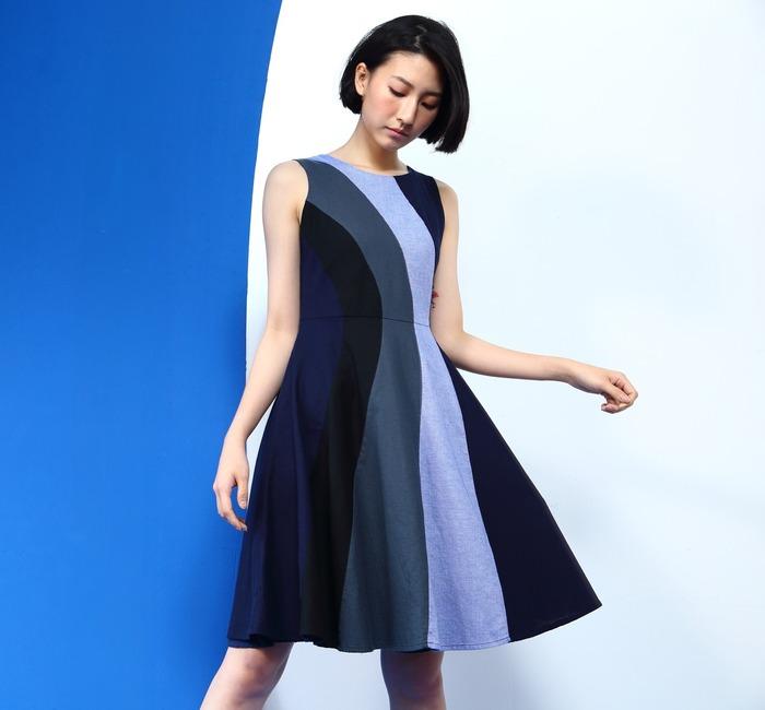 台灣環保品牌 weavism 的洋裝