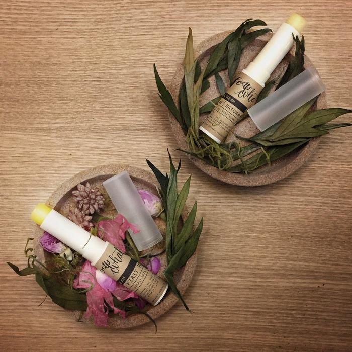 香港手工皂 soapwhat 的天然潤唇膏