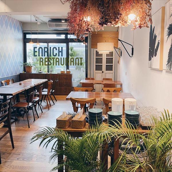 台中-蔬食餐廳-Enrich restaurant