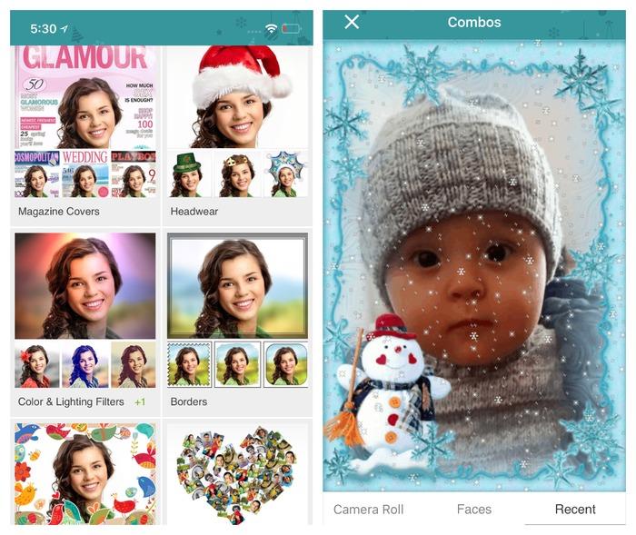 2020 聖誕節自拍推薦!5 個快速增加聖誕氣氛的歡樂拍照 APP:Christmas Photo lab