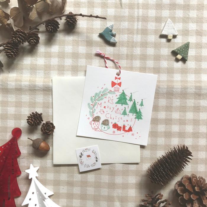 Pinkoi 品品市集 聖誕市集 現場 DIY 聖誕小卡片