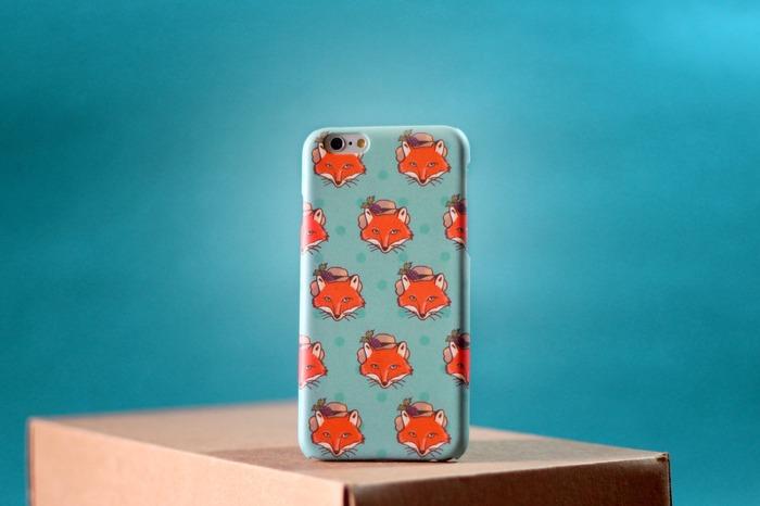 馬來西亞設計 狐狸 手機殼 可愛