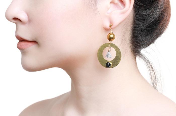 馬來西亞設計 金屬 耳環 飾品