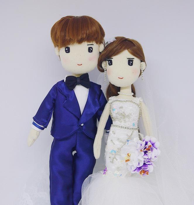 馬來西亞設計 手工 客製化 結婚 婚禮 玩偶 娃娃