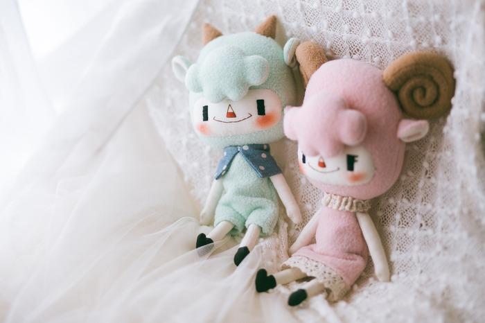 馬來西亞設計 手作小羊娃娃