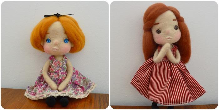 馬來西亞設計 羊毛氈娃娃 玩偶