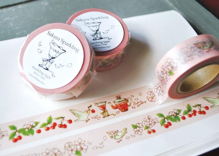 Japanese stationery sakura washi tapes