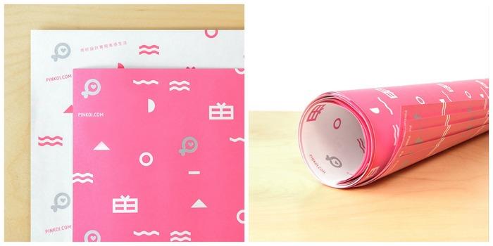 Pinkoi 包裝紙