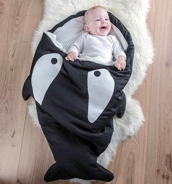 鯊魚咬一口 彌月禮 彌月禮盒 彌月禮物 新生兒禮物2021 彌月禮怎麼送 彌月禮推薦 滿月禮