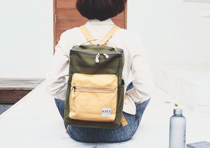 筒型後背包
