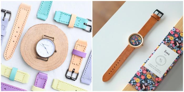 植鞣皮革手錶材料包