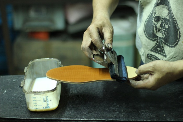 o'ringo 林果 女鞋製作過程