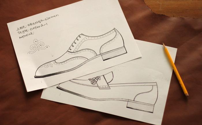 o'ringo 林果 女鞋設計稿
