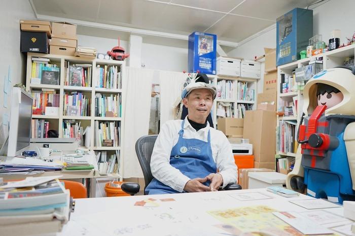 「妻子的一句話改變了他的人生」——【河童堂】日本插畫家弓削滿專訪