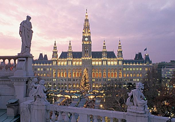 維也納聖誕市集