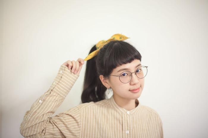 Pin-Up Girl 復古頭巾綁法
