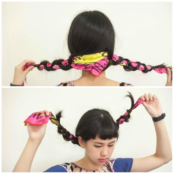 女畫家芙烈達卡蘿招牌的緞帶辮子盤髮
