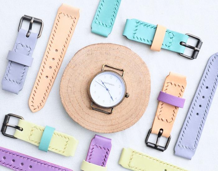 意大利植鞣革 女生手錶