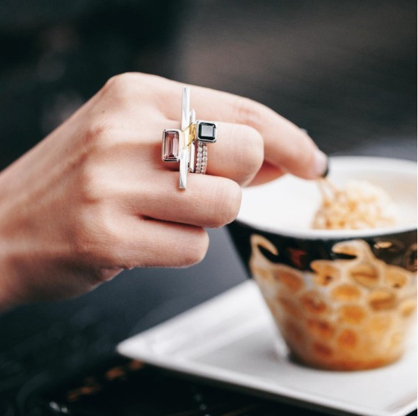 2018 horoscope and birthstones gifts for Scorpio: topaz ring