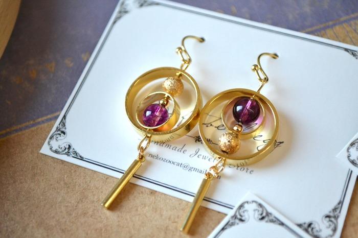 2018 horoscope and birthstones gifts for Capricorn: garnet earrings