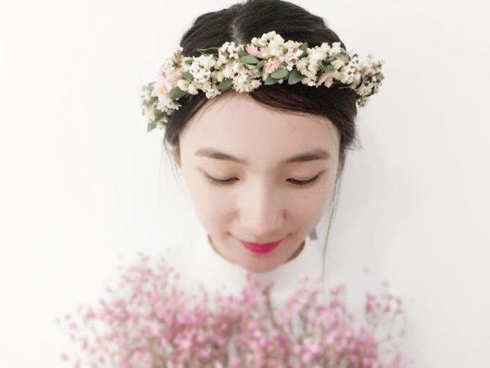 乾燥花花冠