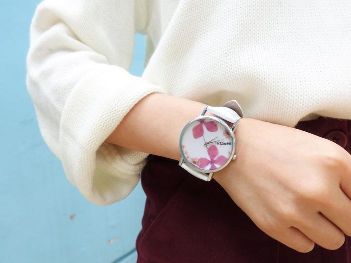 乾燥花手錶