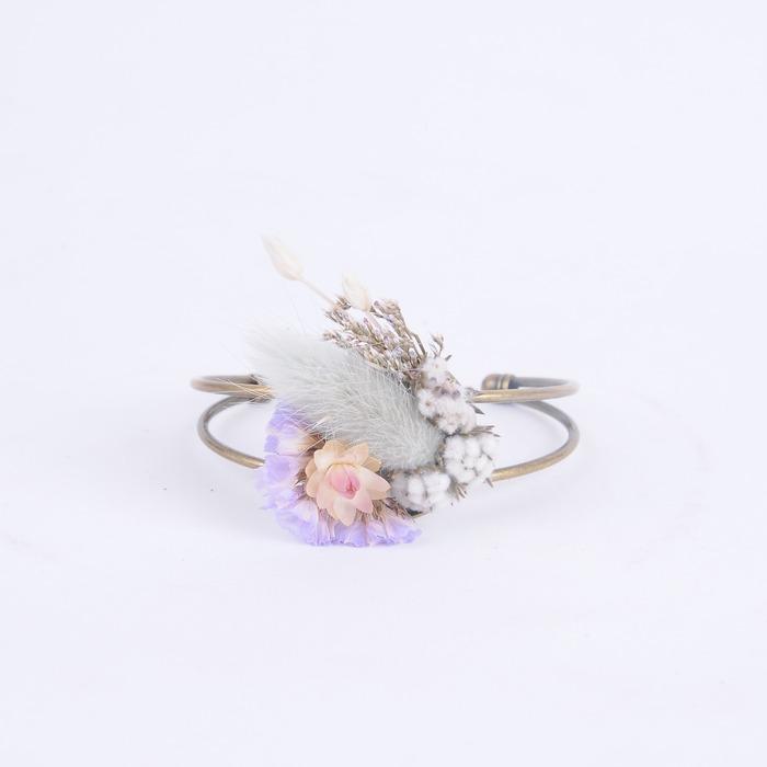 乾燥花手環